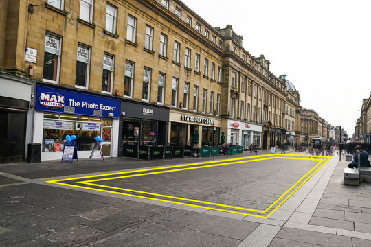 Northumberland Street South Highlight